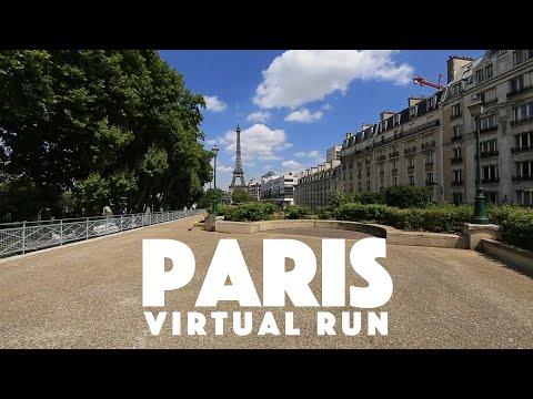 Paris France Virtual Run