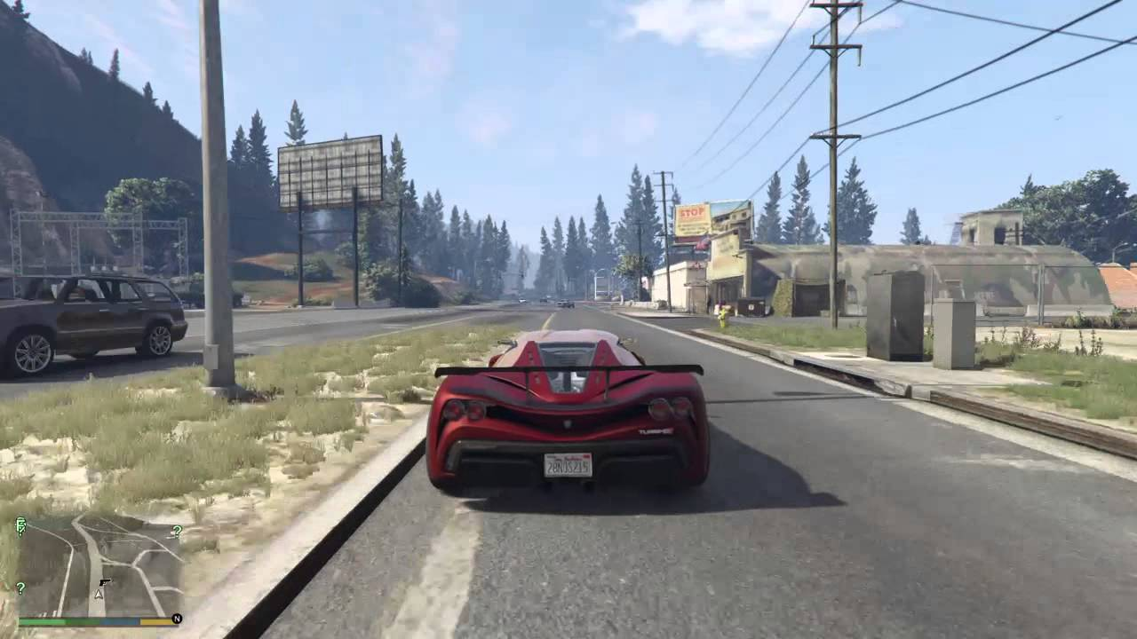 gta 5 ps4 map run driving around the whole san andreas state gta 5 next gen youtube. Black Bedroom Furniture Sets. Home Design Ideas