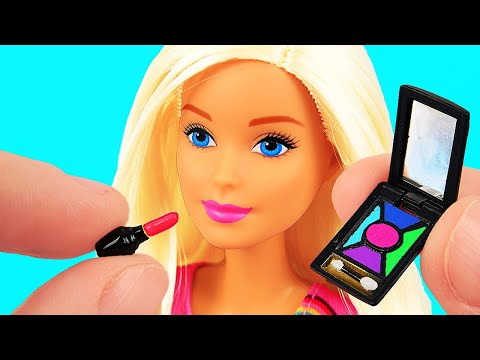 6 Awesome DIY Barbie Hacks & Crafts: Barbie balloon Clothes, Bed, Bags, etc.