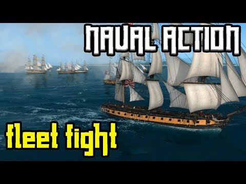 "Naval Action: ""4th rate FLEET MISSION"" - Ep.09 - Gameplay"