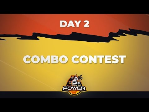 DBFZ Summit of Power Day 2 - Combo Contest
