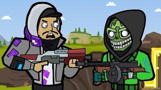 Mezmer & Pressure Plant | The Squad (Fortnite Animation)