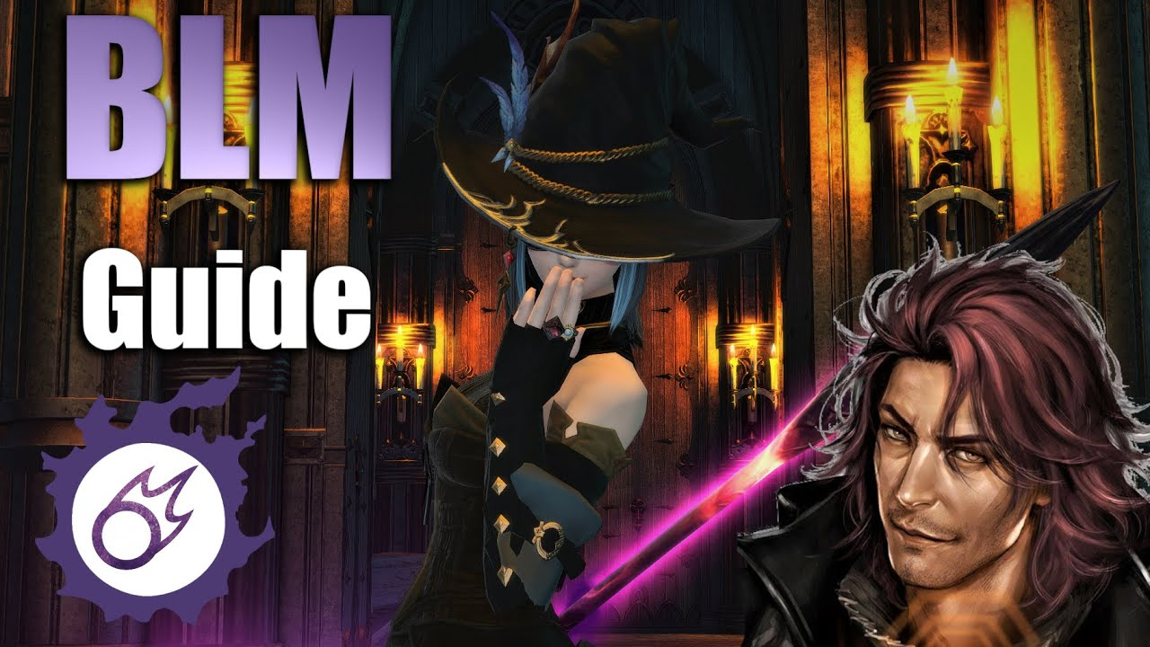 FFXIV - Ultimate BLM/Black Mage - Shadowbringers guide (Patch 5 05 - feat   big Exploooshuns)