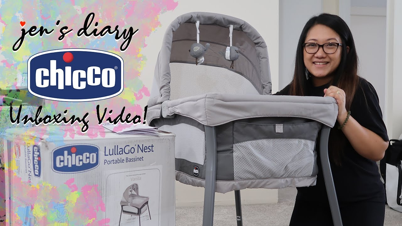 Chicco LullaGo Nest Portable Bassinet - Unboxing