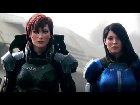 """Mass Effect 3 - """"Female Shepard"""" Launch Trailer (2012) Game HD"""