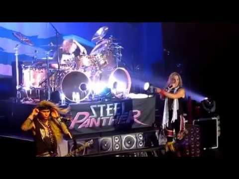 Fan Challenges Steel Panther's Drummer and Completely Nails Hot For Teacher