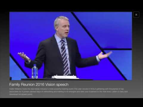 2016 Vision Speech By Gary Keller by Mega-Careers.com