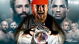 UFC Fight Night Oklahoma City Predictions