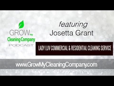 Cleaning Service Contracts featuring Josetta Grant
