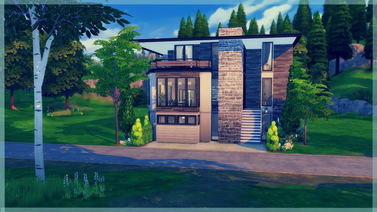 how to just build houses in sims 4