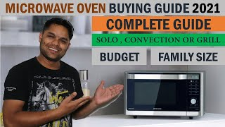 Microwave oven buying guide 2020   complete details in hindi   by yk technical