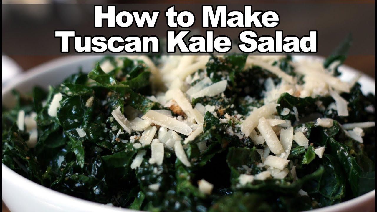 How to make tuscan kale salad true food kitchen recipe youtube youtube premium forumfinder Images