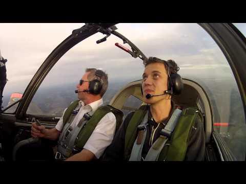 Aerobatics in a Scottish Aviation Bulldog 2, TFHS