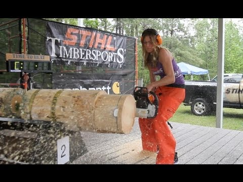 Can a Model Handle STIHL Timbersports?