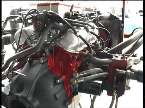 Engine 2 8i Test Run - Ford Capri injection