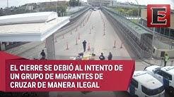 Imagen de Impacto: Cierran puente internacional de Nuevo Laredo