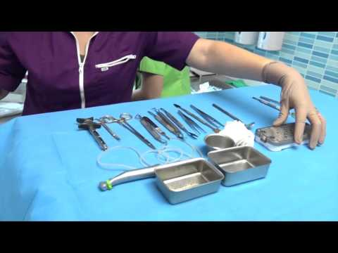 Dental surgical instrument display
