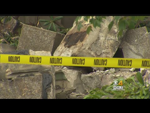 Partial Building Collapse in Brookline