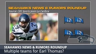 Seahawks Rumors & News Featuring Trading For Earl Thomas And Michael Bennett Indicted For Felony