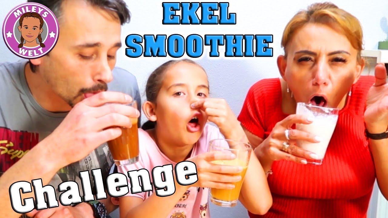 SMOOTHIE Challenge mit hohem EKELFAKTOR - das schmeckt zum ...