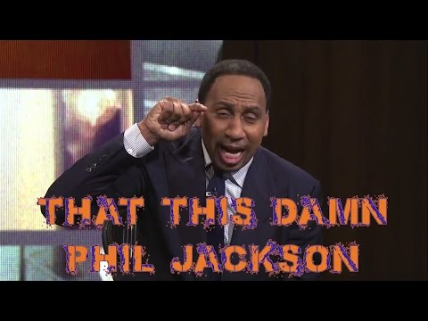 Epic Stephen A. Smith Rant On Phil Jackson & Carmelo Anthony | First Take | April 17, 2017