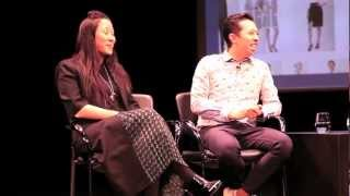 Fashion Designers Humberto Leon & Carol Lim at FIAF's Florence Gould Hall, NYC March 2013