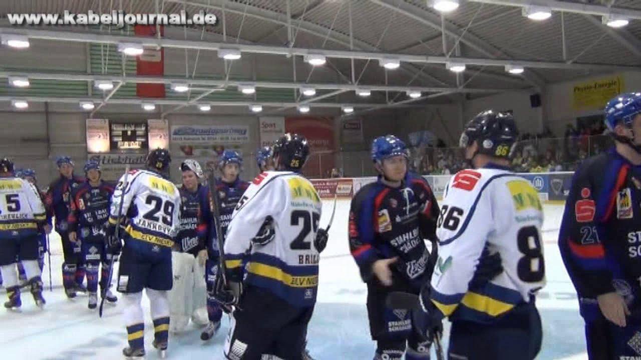 Kabeljournal berichtet über die Begegnung EHV Schönheide ...  Kabeljournal be...