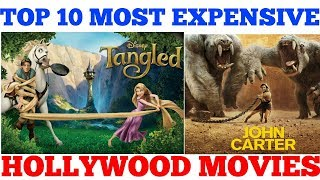 top 10 most expensive hollywood movies 2018