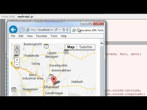 Realtime Location Tracking - Google Maps: HTML5