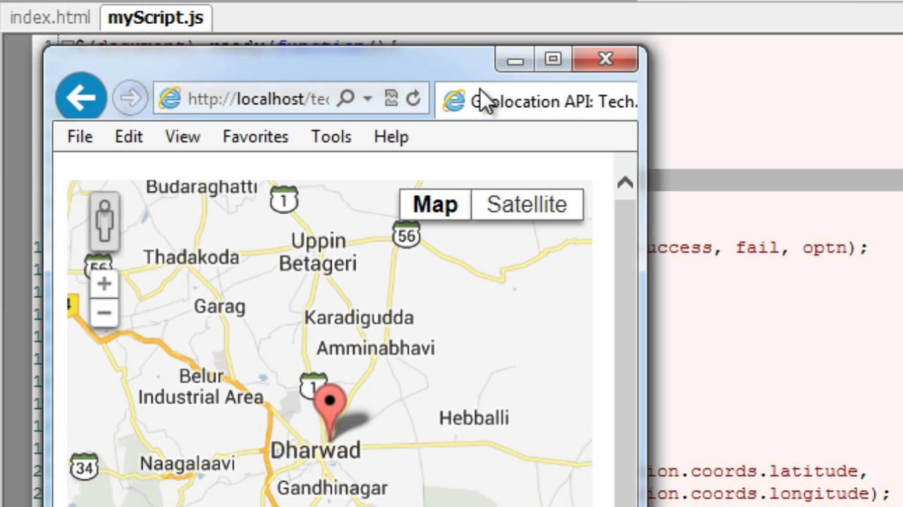 Realtime Location Tracking - Google Maps: HTML5 - YouTube