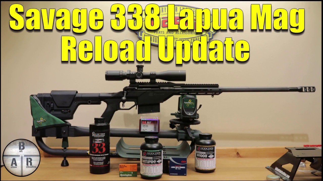 Savage 110 BA 338 Lapua Magnum Reloading update with Reloader 33, Hodgden  H1000,and Hodgden Retumbo