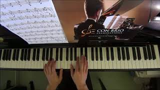 Con Brio Exam (CBE) Grade 2 Le Couppey Op.17 No.18 Performance