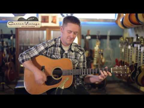 1942 Martin D-28 owned by Bryan Sutton played by Jake Workman