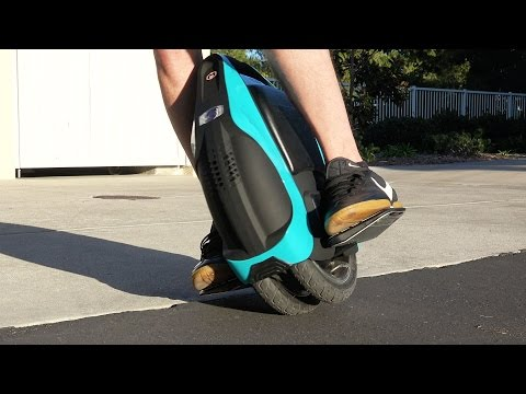 Thumbnail: Self Balancing DUAL-Wheel Electric Unicycle Scooter! - REVIEW