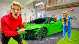 She BROKE My Lamborghini SHARERGHINI *Caught Her Red Handed*