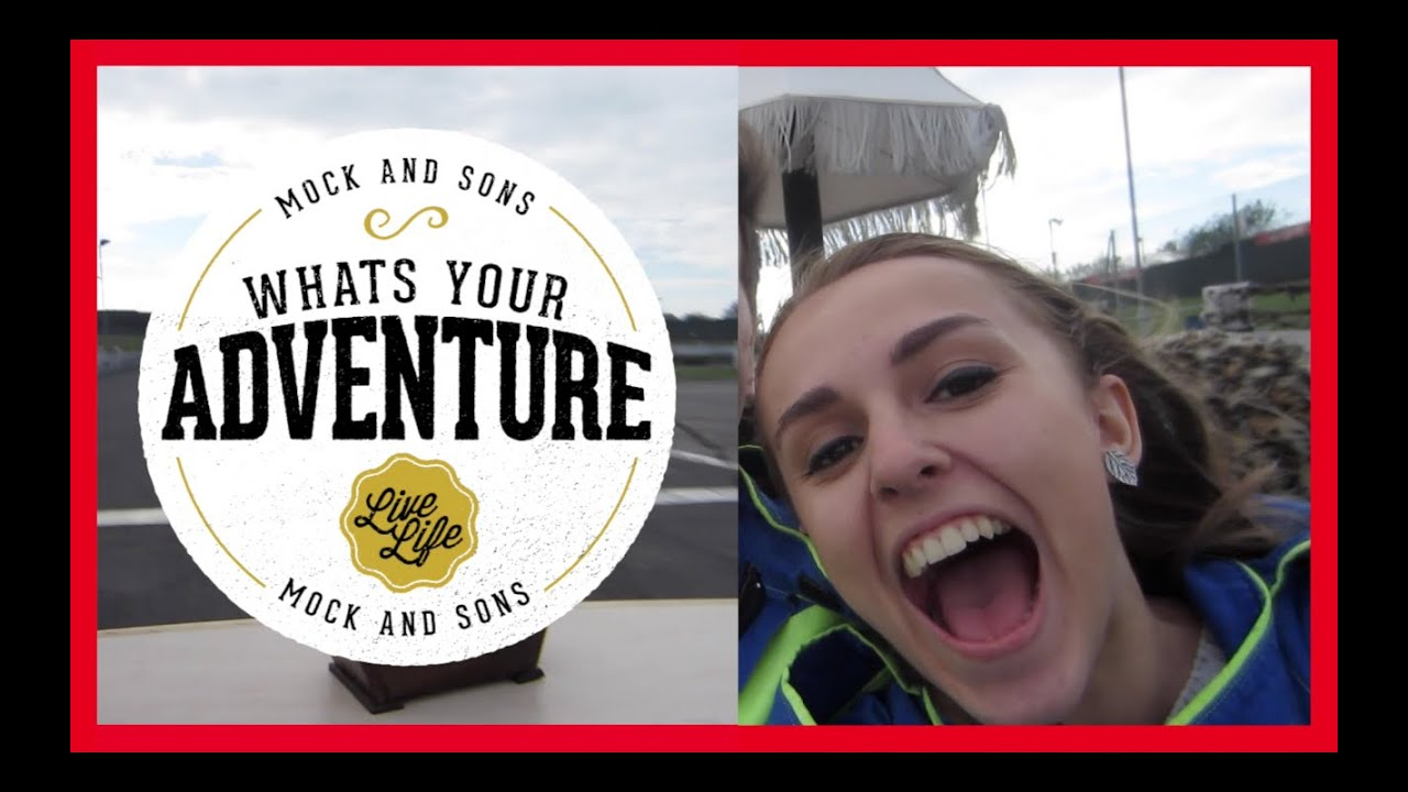 Hannah Witton's Wacky Races Adventure with Mocks - British YouTubers, Hannah Witton and Jazza, go to Wacky Races.