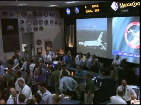 STS-135 Landing Rob Navias Final Signoff July 21, 2011