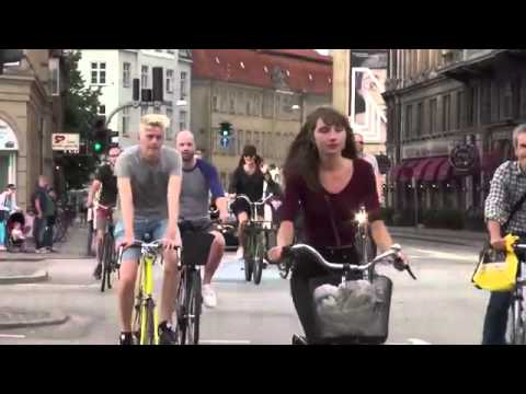 A journey around Copenhagen's bicycle innovations