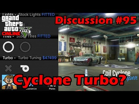 Cyclone Hidden Turbo Upgrade! Does It Work? - GTA Discussion #95