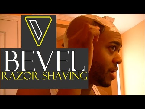 Shaving Head with BEVEL razor