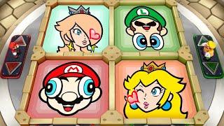 Super Mario Party MiniGames - Mario Vs Rosalina Vs Luigi Vs Peach (Master Cpu)