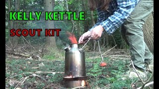 Kelly Kettle Scout Camp Kettle Survival Stove