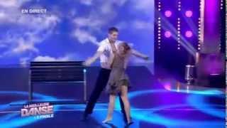 La meileure danse Finale   Show banc (Yann-Alrick Mortreuil-Henry & Flore Merlier)