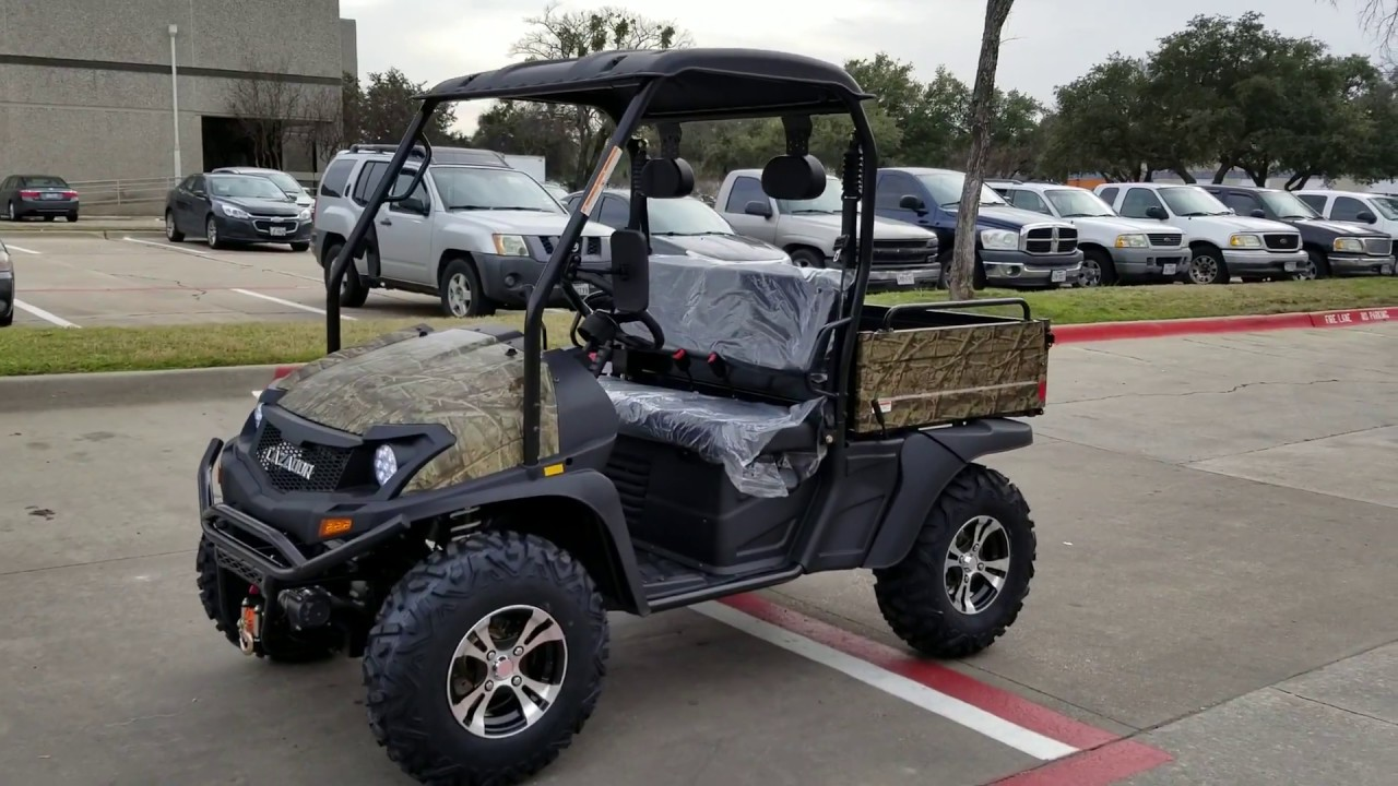 400cc Outfitter UTV UTILITY VEHICLE Offroad Camo Version