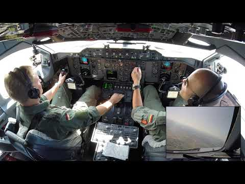 German Air Force Commander playing a classic Airbus YOKE!!! Powerful A310 Takeoff!!! [AirClips]