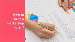 how to write a marketing plan? step by step guide + templates