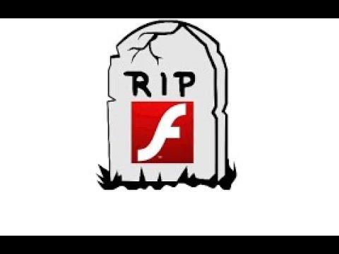 R.I.P Adobe Flash Player 1996 2020 Tribute