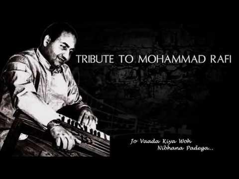 Jo Vaada Kiya Woh Nibhana Padega- Instrumental [Mohammad Rafi]