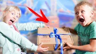 Сережа и Дарина нашли странную коробку ЧТО ТАМ?