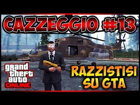 GTA 5 ONLINE ITA PS3 - Cazzeggio #13 - Razzisti Su Gta! Il Degrado!